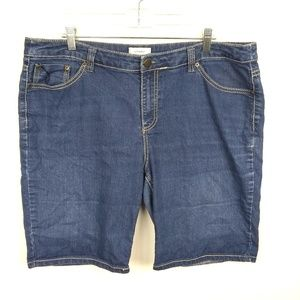 CJ Banks Bermuda Shorts | sz 16W